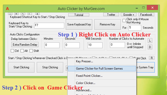 Steps to Launch Gaming Mouse Software